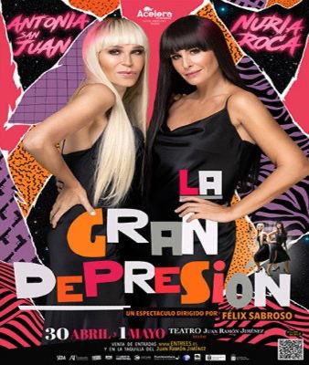 La gran depresión, espectáculo de Antonia San Juan y Nuria Roca