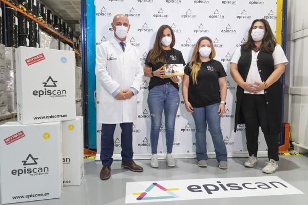 El proyecto Nunca Solo recibe una donación de 1.000 mascarillas