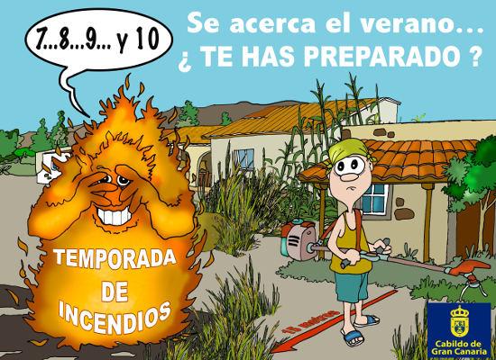 Hay que adoptar medidas para prevenir incendios antes del verano