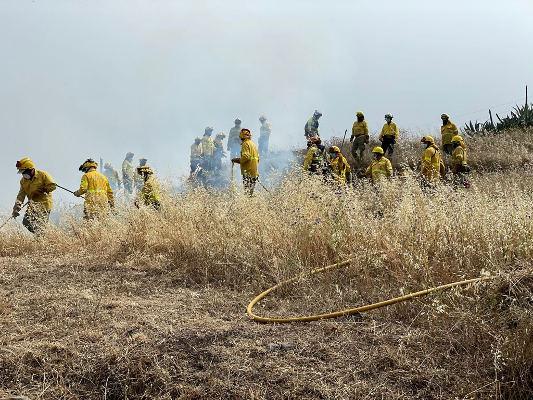 El Cabildo intensifica la formación en materia de extinción de incendios y emergencias