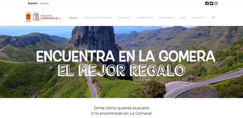 Llévate La Gomera, impulso al comercio virtual con más de 50.000 visitas