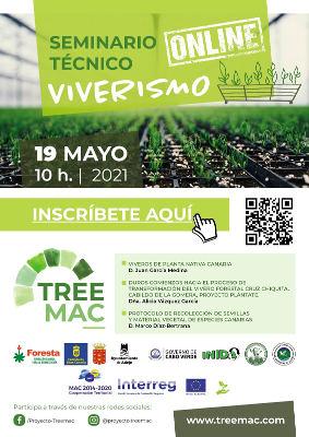 Seminario técnico sobre las labores de los viveros en Canarias