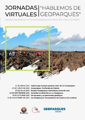 Hablemos de Geoparques, primeras Jornadas Virtuales