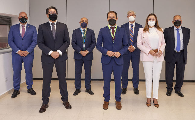 Los presidentes de los cabildos se reúnen en Fitur para fomentar Canarias
