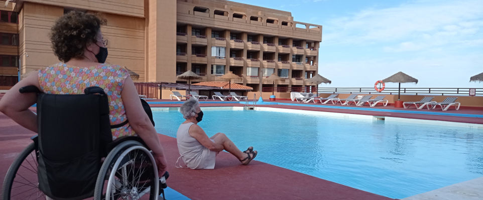 Vuelven las vacaciones de COCEMFE para personas con discapacidad