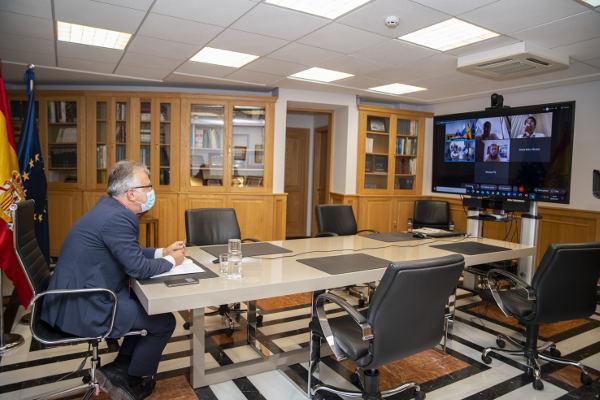 La mesa técnica acuerda la apertura de los interiores hasta 50% de aforo