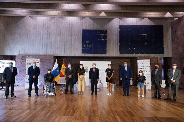 Presentados los seis deportistas de Canarias preseleccionados para Tokio