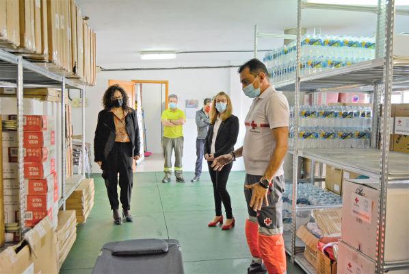 Luz verde al convenio de colaboración con Cruz Roja Española