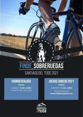 80 ciclistas participarán en la I Cronoescalada de Santiago del Teide