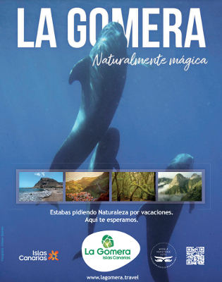 Condé Nast Traveler destaca la riqueza marina de La Gomera