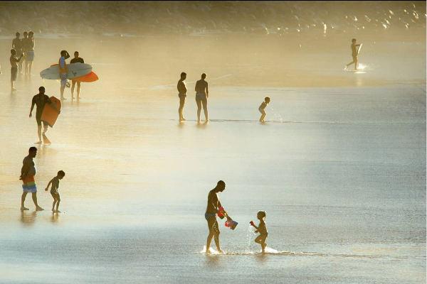 La playa de Las Canteras, imagen del verano para Olympus