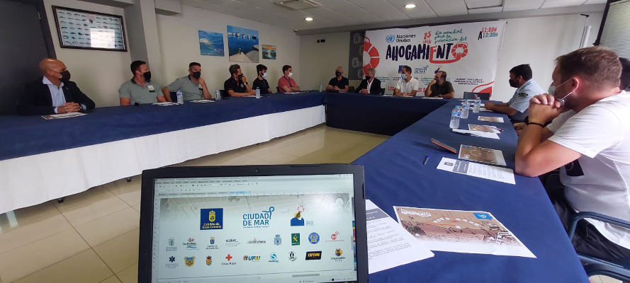 Día Mundial para la Prevención de Ahogamientos en Playa Las Canteras