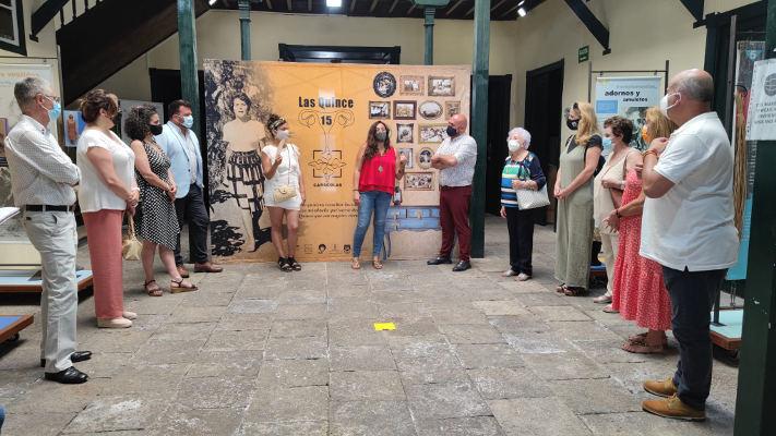 Las Quince exposición que revive la memoria de las mujeres del municipio