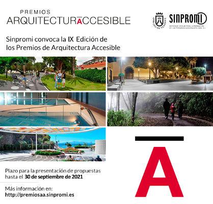 Se convoca la IX edición de los Premios de Arquitectura Accesible