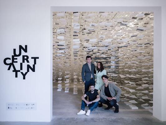 Encuentro sobre Uncertainty, pabellón de España en la Bienal de Venecia