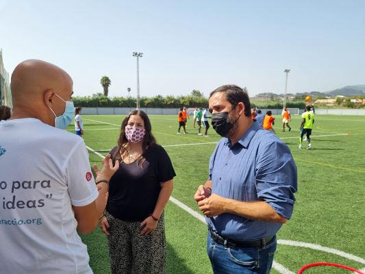 Integración de menores migrantes a través del deporte y los juegos