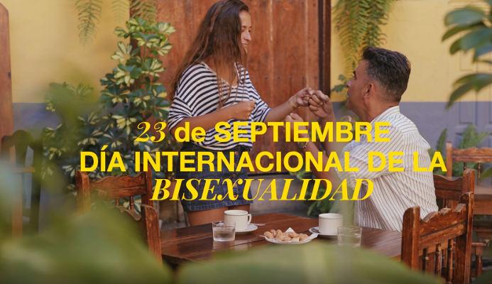 Campaña con motivo del Día internacional de la bisexualidad