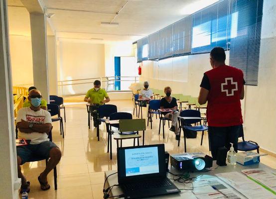 El Plan Formativo 2021 puesto en marcha por Cruz Roja y el Cabildo