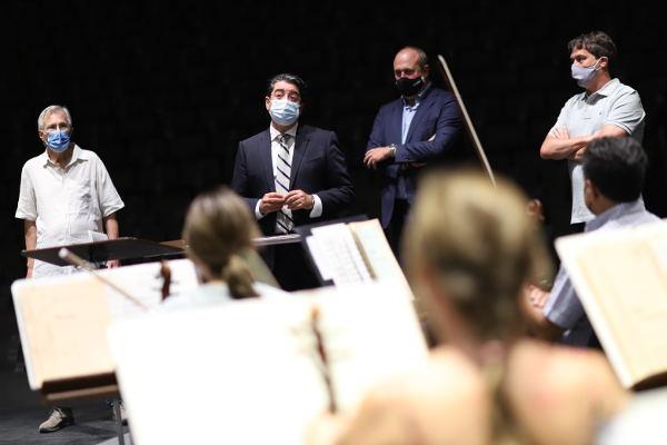 La Sinfónica de Tenerife inicia los ensayos de nueva temporada